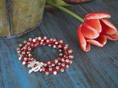 Sterling Silver Wrap Bracelet by saskialarraz on Etsy, $235.00