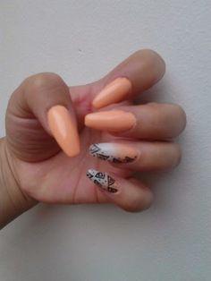 #Squaletto Nails #nail art #nail polish #zuzy's nails #acrylic nails