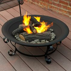 Have to have it. Red Ember Aspen Bronze Fire Pit with Grill Grate ...
