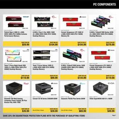 Newegg Black Friday 2018 Ads and Deals Browse the Newegg Black Friday 2018 ad scan and the complete product by product sales listing. Friday News, New Egg, Pc Components, Black Friday Ads, Coupons, Coupon