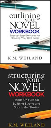 K.M. Weiland | Outlining Your Novel & Structuring Your Novel | Also see her website for more info