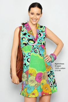 cotton #gemdress 8najam £13.99