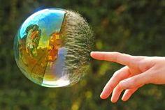 #Bubbles pop...