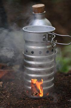Swiss tornado stove. I love mine. Works well.