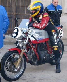 Habermann & Sons Classic Motorcycles and Ducati Cafe Racer, Cafe Racers, Ducati Sport Classic, The Golden Years, Old Bikes, Old And New, Motorbikes, Old School, Racing