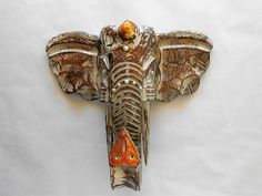 elephant wall sconce distressed sconce wall sconce wall decor wall artitem gls1007