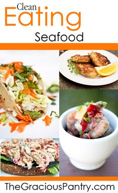 Clean Eating Seafood Recipes    #cleaneating #eatclean #cleaneatingrecipes #seafood