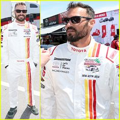 #Brian Austin Green Helps Kick Off Toyota Grand Prix Celebrity Race! --- More News at : http://RepinCeleb.com  #celebnews #repinceleb #CelebNews