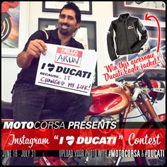 I ❤ Ducati Instagram Contest! - MotoCorsa.com