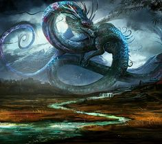 Dragon Art. My soul resonates to its majesty and power.