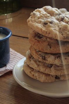 Chocolate Chip Treasure Cookies (chewy and coconut-y, for when you're out of sugar and eggs)
