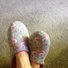 Love my new slippers thank you my friend