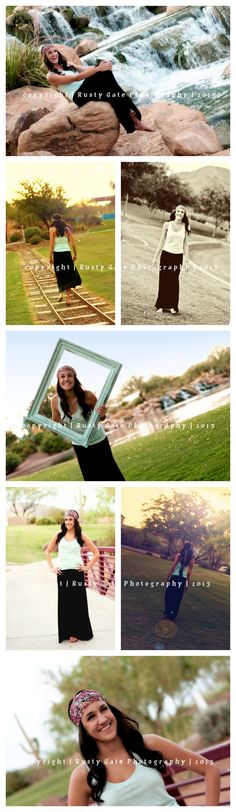 Rusty Gate Photography - Senior Girl