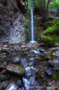 The waterfall of Fairy #KosIsland #Greece