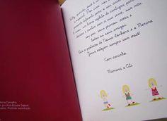 """O livro personalizado """"Canta Comigo"""" continua surpreendendo! As dedicatórias feitas com tanto carinho a crianças tão queridas emocionam. É um presente muito especial! #mybabyface #mybabyfesta #presentediferente #livropersonalizado #anasigaud #amolivros"""