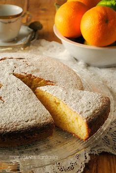 pan d'arancio, torta all'arancia