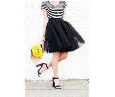 Tutorial: Tulle circle skirt