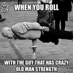 Martial arts humor #grappling #bjj