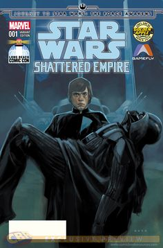Star Wars: Shattered Empire #1 variant cover by... - Art Vault