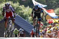 The Team Sky rider pursued Rodriguez up the final ascent and earned bonus seconds