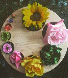 Dilation using flowers .