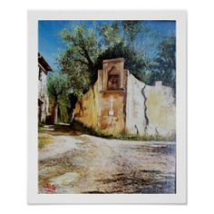 AFTERNOON IN RIMAGGIO / Tuscany View Posters