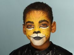 This is face paint....do more for your characterization than this.
