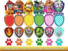 17 Best ideas about Paw Patrol Badge on Pinterest | Paw patrol ...