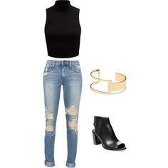 Casual look by jennac00 on Polyvore featuring polyvore, fashion, style, Forever New, Steve Madden and Sole Society
