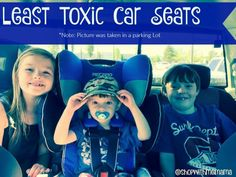 Do you like the idea of laying your brand new newborn baby down into a car seat covered in toxic chemicals like halogenated fire retardants, chlorinated tris, and lead?