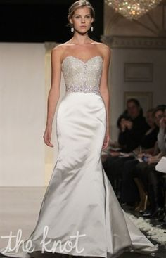 Gown Slideshows: NEW! Lazaro: Spring 2012 : Lazaro from The Knot