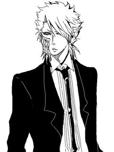 Grimmjow suit and tie