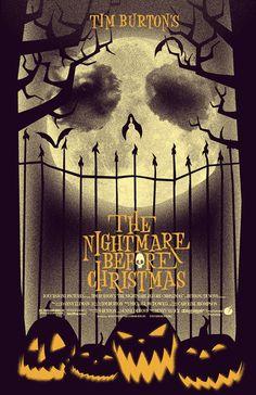 The Nightmare Before Christmas alternative movei by trythemonkey, $19.00