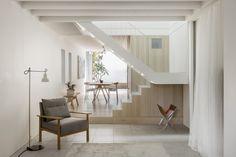 Benn + Penna Architecture (Австралия). Светлый дом c двумя террасами — Д.Журнал