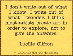Quotable – Lucille Clifton
