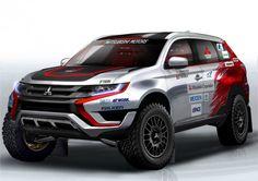 Mitsubishi Motors takes on Baja 500 cross-country rally with Outlander PHEV | Mitsubishi Motors New Zealand