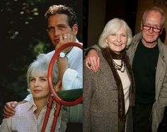 Paul Newman and Joanne Woodward.  Such a beautiful couple.  There were married for 50 years