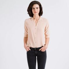 The Silk Rounded Collar