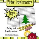 In this freebie, students will plot points on a graph and then do 3 different types transformations (dilation, rotation, reflection).    Aligned wi...