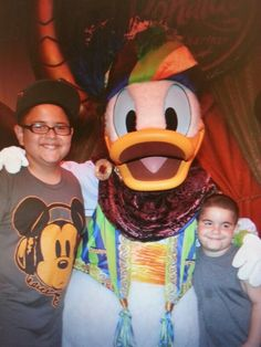 My babies and Donald
