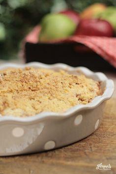 Apple Crisp, Anna, Easy, Blog, Baking Pans, Spoons, Best Recipes, Apple Filling, Deserts