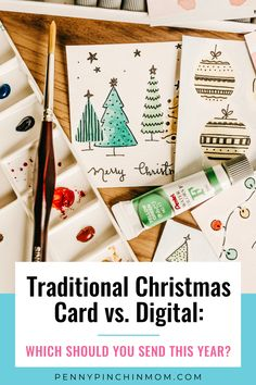 Digital holiday cards are a quick and easy way to send holiday wishes — but before you click and sign up, it is important to know if they are a fit for you. Christmas On A Budget, Christmas Time Is Here, All Things Christmas, Christmas Holidays, Holiday Wishes, Holiday Cards, Christmas Cards, 5 Gifts, Best Gifts