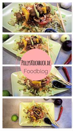 Foodblog mit leckeren und gesunden Rezepten - es sind aber auch so einige Schweinerei dabei...  #foodblog #kochen #asiatisch #hackbällchen #avocado #thai #salat