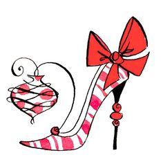 Anne Keenan Higgins Watercolor Christmas Cards, Christmas Drawing, Christmas Paintings, Watercolor Cards, Christmas Rock, Christmas Images, Christmas Cats, Christmas Labels, Christmas Greeting Cards