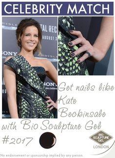 Get nails like Kate Beckinsale with Bio Sculpture Gel! Bio Sculpture Gel Nails, Get Nails, Kate Beckinsale, Gel Nail Art, Prom Dresses, Formal Dresses, Celebs, Celebrities, Evo