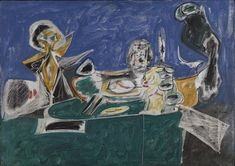 From A High Place II - Arshile Gorky