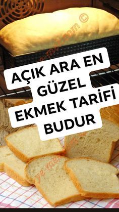 Bread Recipes, Snack Recipes, Cooking Recipes, Snacks, Yummy Food, Delicious Desserts, Iftar, Turkish Recipes, Perfect Food