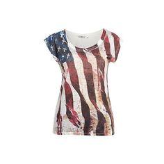 #american fashion american flag t-shirt 4th july