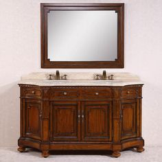 Legion Furniture WH3368 68 in. Double Bathroom Vanity - WH3368
