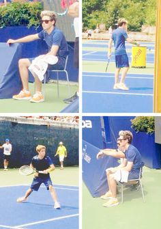 JESUS NOT TENNIS NIALL OH MY GOD THAT'S MY SPORT OH LORD HELP US ALL TENNIS NIALL GIVES ME SO MANY FEELS -E